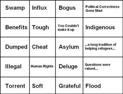 Tabloid Bingo