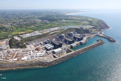 September 2012 - EPR reactor construction site - Flamanville, France © EDF, Morin Alexis